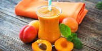 Smoothie abricots melon