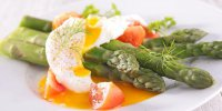 asperge oeufs mollets