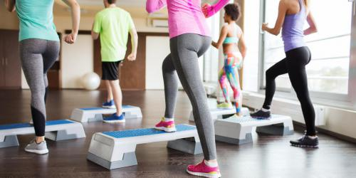 Le step : une super gym minceur !