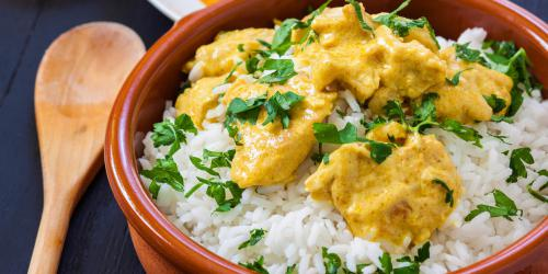 Curry poulet pomme