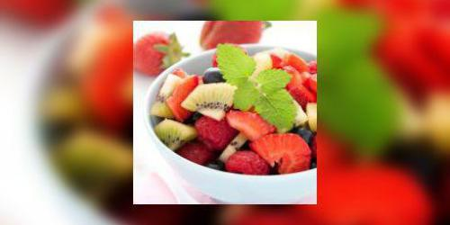 Salade de fruits à l'anis