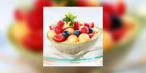 Melon aux fruits