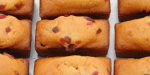 Financiers aux fruits